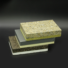 Low cost fireproof wall rockwool insulated sandwich panel price
