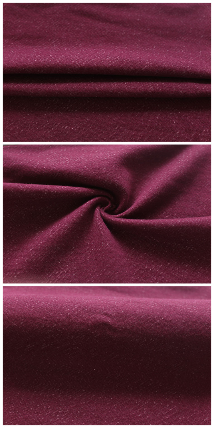 High Quality 100% Cotton Textile Fabric Soft Knitted French Terry Fabric