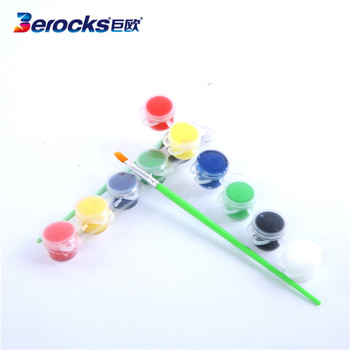Good Christmas gift Manufacture Mini Acrylic paint set/ Wholesale Kids paint set