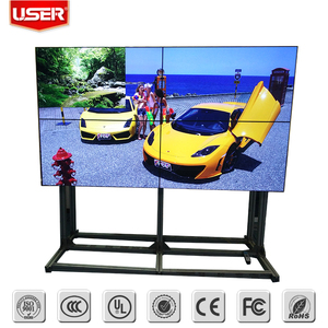 4x4 HD video wall controller,large advertising lcd screens