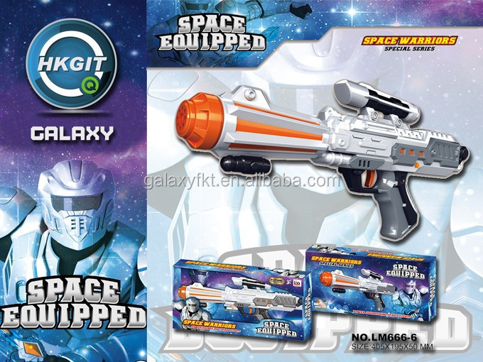 2015 new Space gun ,space warriors with light toy gun