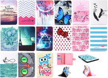 Factory Price Color Printing Customed Wallet Leather Case Cover For iPad Mini 4