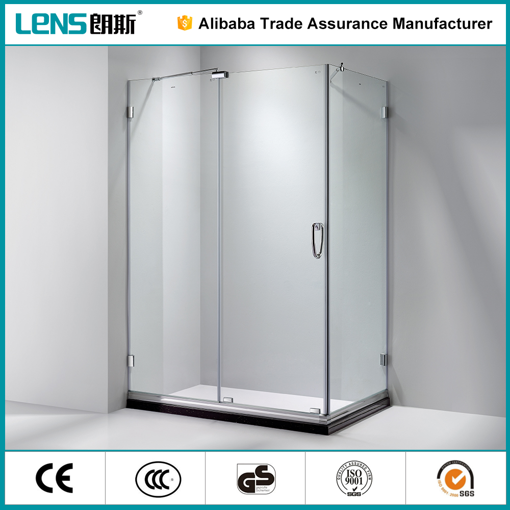China Blossom factory Container house wheels sliding glass LENS LIMA - E31 shower cabin