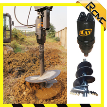 500mm extension shaft helical drill digging auger machine for planting tree