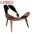 HX6003C Buy Classical Design Home Furniture Living Room Wooden Replica Hans J. Wegner Shell Chair from Foshan China