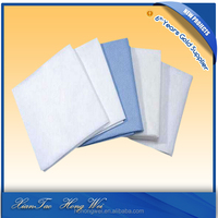 cheap hospital rubber bed sheet/medical bed sheet