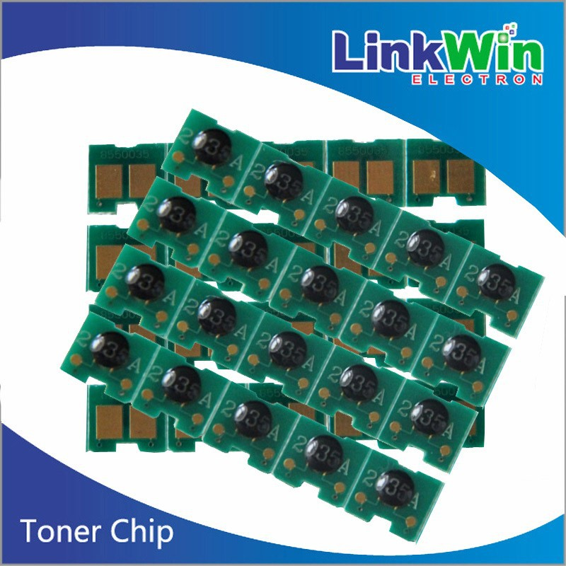Toner cartridge chip resetter for HP CB435A toner reset chip