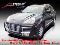 Body kit for 08-10 Porsche Cayenne 957 Style Tech kit for cayenne 957