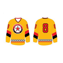 Custom Blank sublimation ice hockey jersey