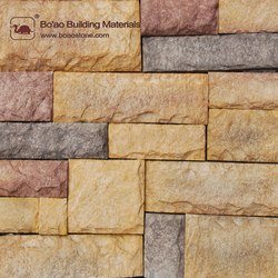 New designed rich textures Calidal stones decorative stone wall coating