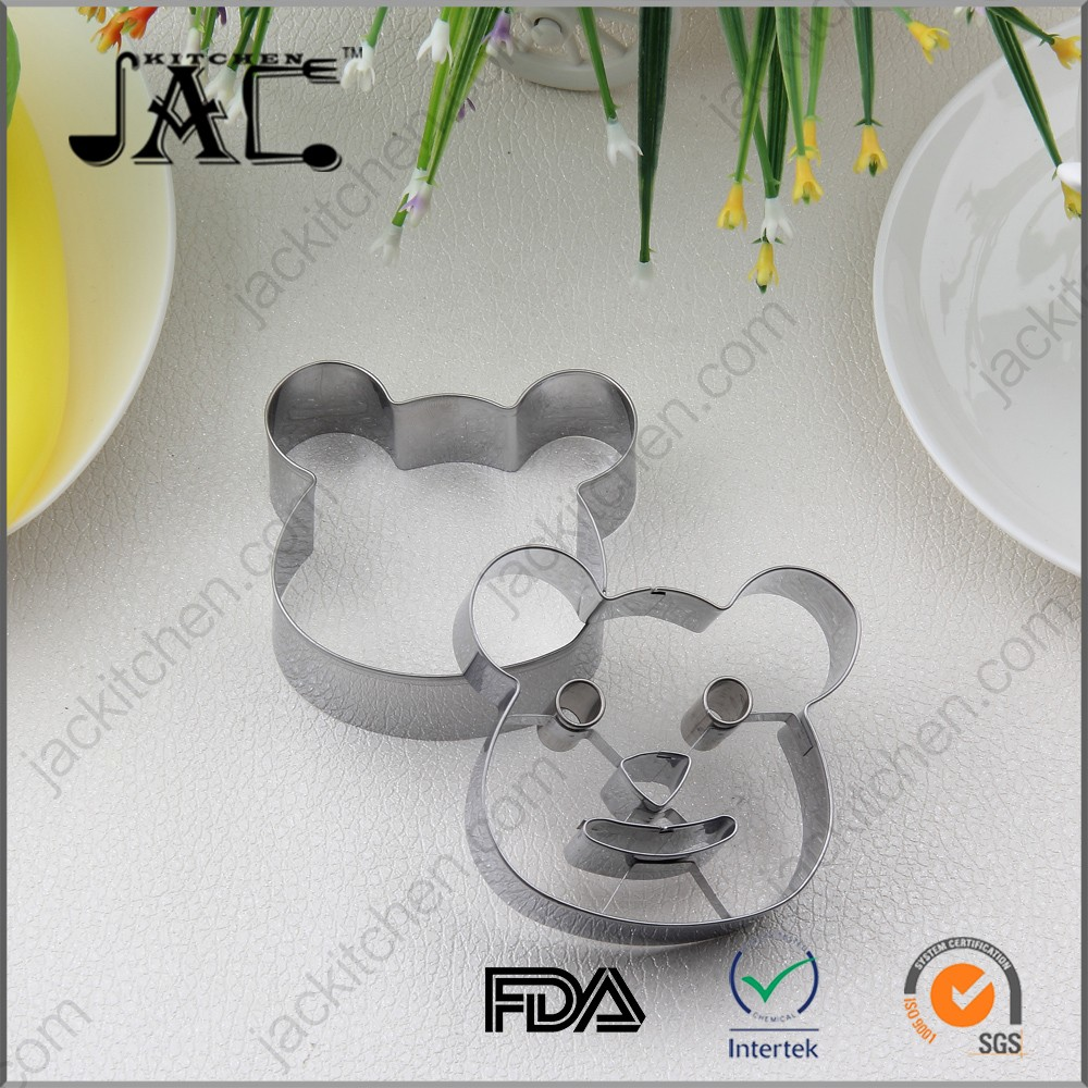 Home Value Mickey Mouse Face Shape Cookie Cutter