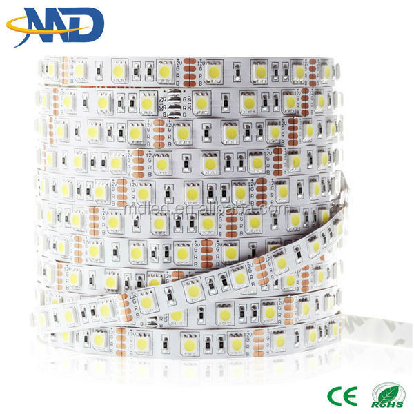 5M 5050 60led DC12V no waterproof magic <strong>rgb</strong> 5050 smd led strip light new items in china market