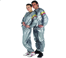 PVC fitness sauna suit