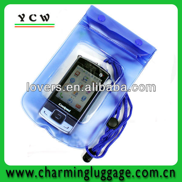 waterproof mobile phone pouch pvc phone pouch