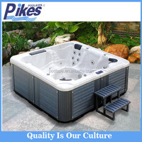 Hot sale Balboa system luxury Massage whirlpool for 6 person outdoor Whirlpool