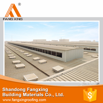 cladding for external plastic corrugated roof tiles