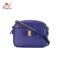 CL15-100 Amazon fashion designer PU small handbag blue cross body bags women