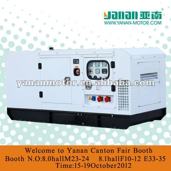 Yanan soundproof CUMMINS Diesel Genset For 37.5KVA/30KW