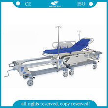 AG-HS003 CE&ISO approved Medical Connecting ICU ball stretcher