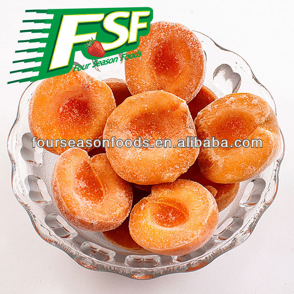 New season IQF Apricot Frozen Yellow Apricot