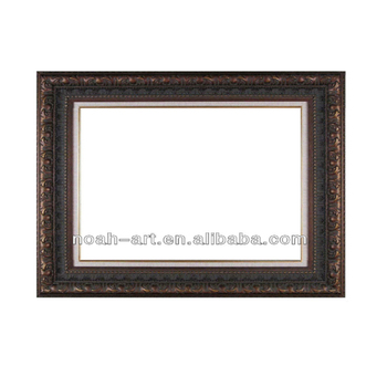 wooden material antique oil painting frame for Living room Decor