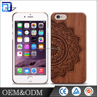 Custom OEM ODM super quality fashion shockproof stand function wood calculator phone case for Iphone 6/6s/6s plus/ 5 /5se