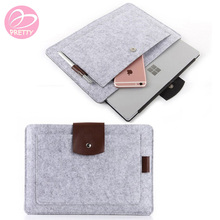 Wholesale Business Fashion Felt Laptop Bags Computer Bag Notebook Bag