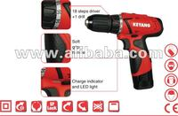 Electronic tools, Cordless Driver Drill