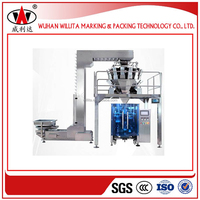 Full automatic vibratory weighing feeder feeding vertical packaging machine