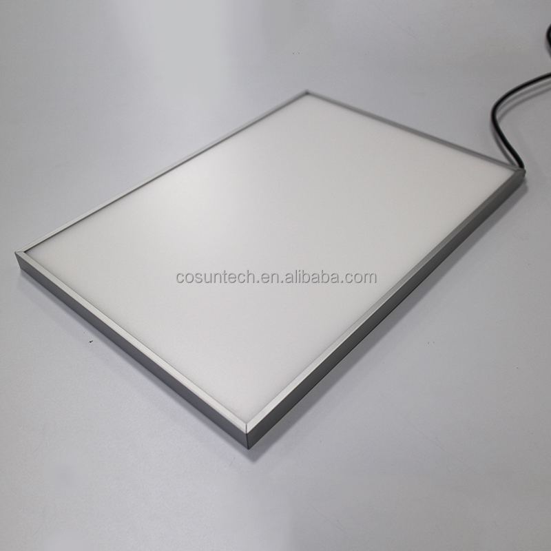 Hotsale 6mmAcrylic Pmma illuminated led light guide panel,led light panel