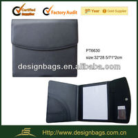 fashionable cheap leather portfolio leather envelope portfolio
