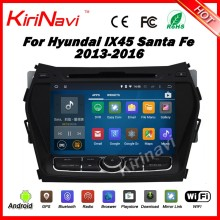 "Kirinavi WC-HIX7201 android 5.1 8"" car stereo for hyundai santa fe 2013 2014 2015 2016 navigation wifi 3g"