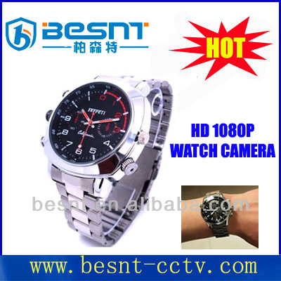 Fashion sd card wrist watch camera HD 1080P 16gb Watch mini hidden CCTV Camera BS-S30