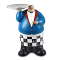 custom make plastic chef figurine toys,custom design cartoon figure plastic chef figurine