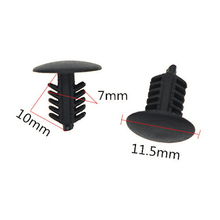 Wholesale auto tree fastener, nylon plastic clips for cars