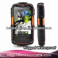 FortisX 3G Android Smartphone phone call rugged phone Dual SIM waterproof shockproof mobile phone V5