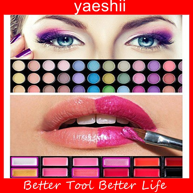 YAESHII hot commodity 78 makeup color eyeshadow palette for young women