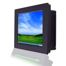 Windows 8 cheap fanless 12 inch industrial led touch screen panel PC