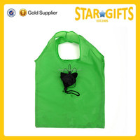 Wholesale Standard Size Reusable Folding Shopping Bag With Logo