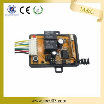 High quality 315mHZ wireless receiver for garage door