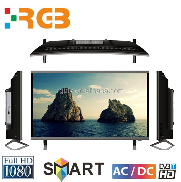 Hot Sale 32 40 42 50 65 75 inch 4K LED Android Smart TV, China curved Screen HD LED TV LCD, 32 50 55 inch Smart TV