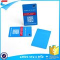 OEM Business Plastic Privilege Card Size PVC Card