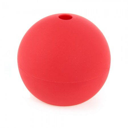 Whiskey Ice Cube Silicon Ball Maker Mold Sphere Party Mould Round Tray Red