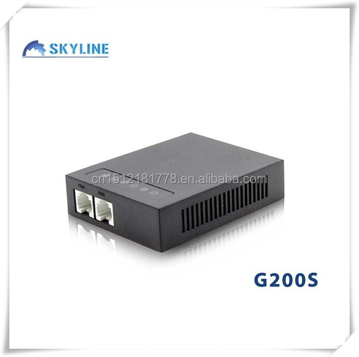G200S 2 lines fxs gateway VoIP Gateways Connect Analog Devices to IP Phone System