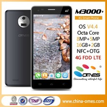 "Big Battery OMES M3000 5.0 inch 5 inch 5"" 4G FDD LTE MTK 6592 Octa Core android high quality smartphone"