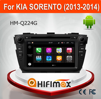 Hifimax Andriod 7.1 Car DVD Player For KIA SORENTO 2013 2014 Car Multimedia WITH Canbus Quad Core 1080P WIFI 3G