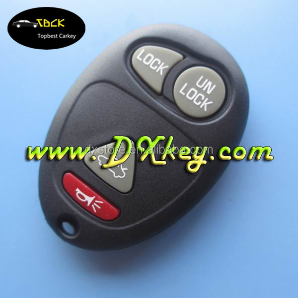 315MHZ car remote control for 4 buttons GMC key gm remote Control