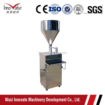 GZ-B Semiautomatic Filling Machine (Electric or Pneumatic)