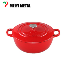 China Non Stick Enamel Kitchenware Cast Iron Mayer House Cookware Ceramic Pot
