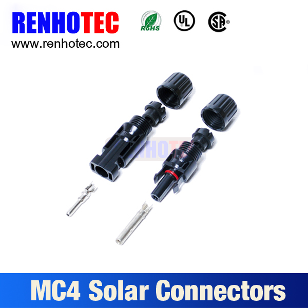 mc4 connector pins, photovoltaic mc4 connector pv connector for solar panel systems